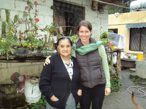 My first preceptor, Marina, in Ecuador