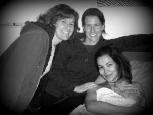 Vieau midwifery team